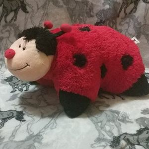 Lady bug pillow pet